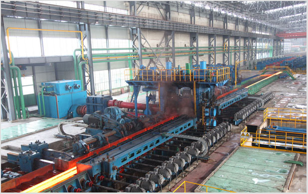 H Beam Steel Production