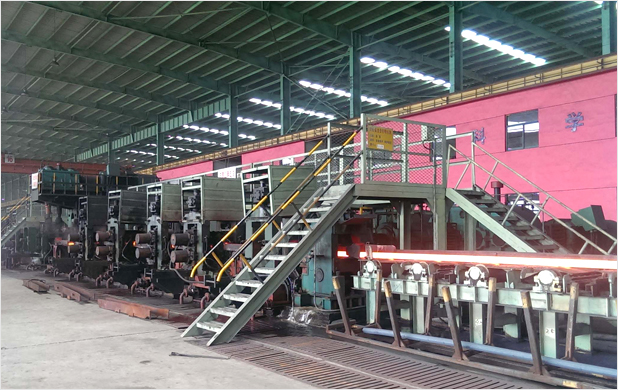 Continuous Rolling Angle Steel Production